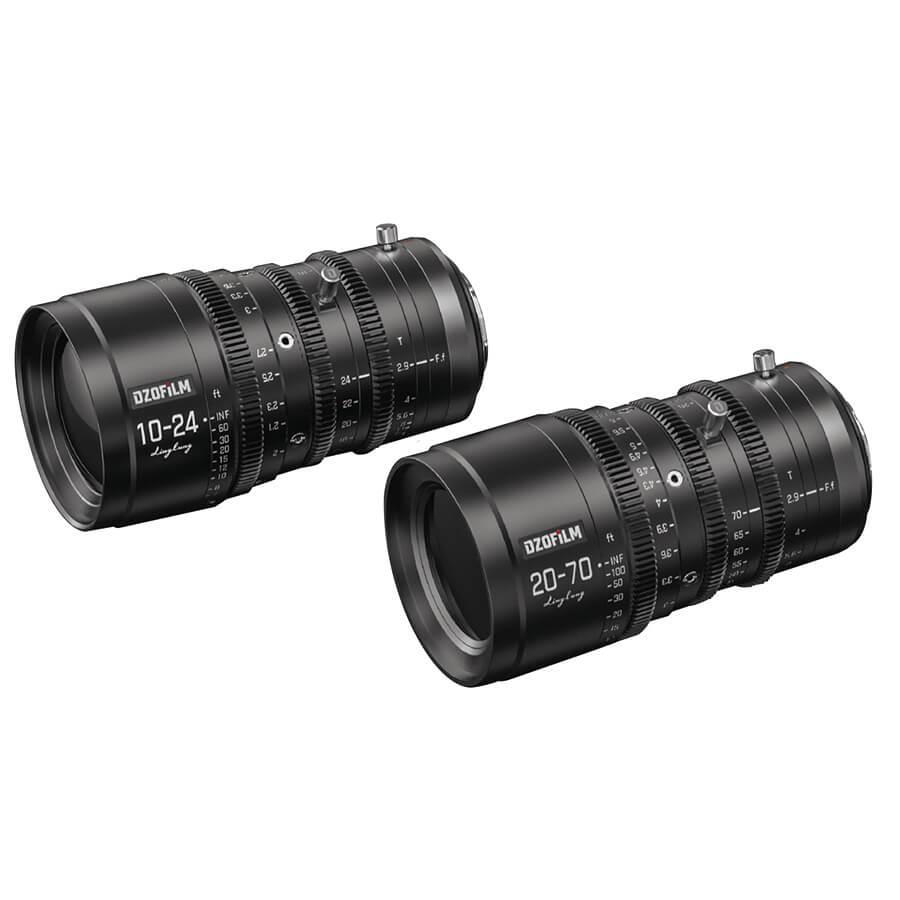 LingLung 20-70mm T2.9 / LingLung 10-24mm T2.9の写真 1