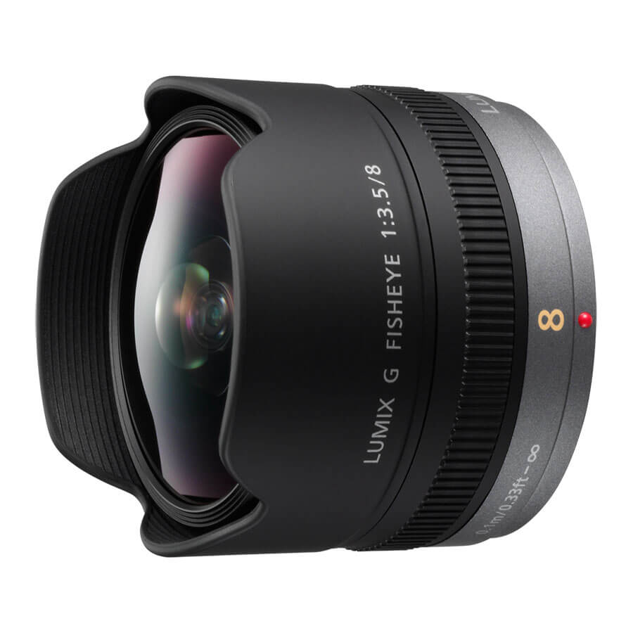 LUMIX G FISHEYE 8mm F3.5の写真 1