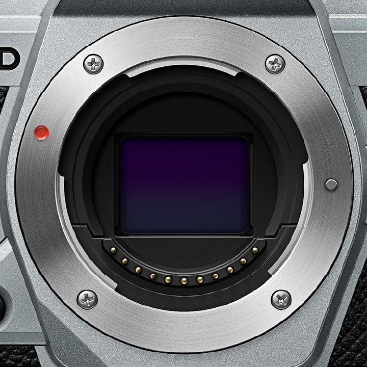 イメージサークルの約2倍の直径を持つマウント規格